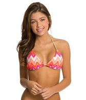 Luli Fama Flamingo Beach Braided Triangle Bikini Top
