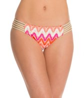 Luli Fama Flamingo Beach Braided Bikini Bottom