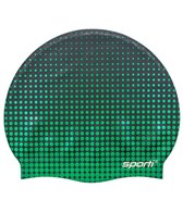 Sporti Molecule Silicone Swim Cap