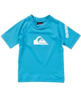Quiksilver Infant Boys' All Time S/S Rashguard (6-24mos)