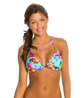 Quintsoul Summer Bloom Triangle Bikini Top