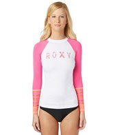 Roxy Women's Perfect Stripe L/S Rashguard