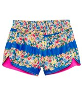 Seafolly Girls Abbey Road Reversible Boardie Short (6-14)