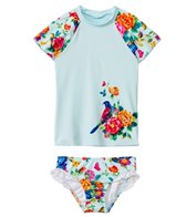 Seafolly Girls Baby Birdie Flutter Sunvest Set (6mos-7yrs)