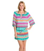 Kenneth Cole Reaction Beachside Beauty Bandeau Maxi Dress