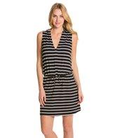 Kenneth Cole Reaction Skyline Stripe Hoodie Dress