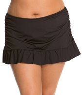 Kenneth Cole Reaction Plus Size Solid Skirted Bottom