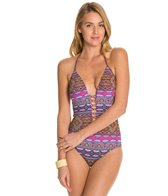 Kenneth Cole Moroccan-Me Crazy Plunge One Piece