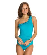 Kenneth Cole Sassyfras One Shoulder One Piece