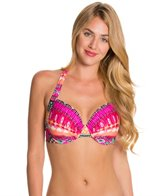 Kenneth Cole Reaction Get Rio Stripe D-Cup Underwire Top