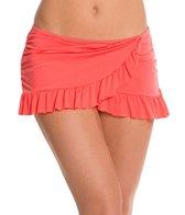 Kenneth Cole Reaction Ruffle-Licious Asymmetrical Swim Skirt