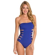 Kenneth Cole Reaction Ruffle-Licious Banded One Piece