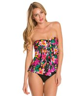 Kenneth Cole Reaction Miss Tropicali Faux Twist Tankini Top