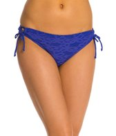 Kenneth Cole Reaction Adjustable Crochet Hipster Bikini Bottom