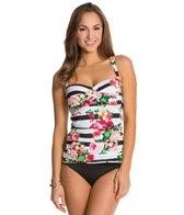 Jantzen Harbour Beauty Twist Front Tankini Top