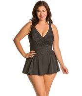 Miraclesuit Plus Plus Size Pin Point One Piece
