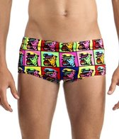 Funky Trunks Boys' Bad Boy Boxer Printed Trunk