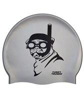 Funky Trunks Snorkel Pug Silicone Swim Cap