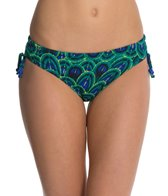 Funkita Emerald Peacock Tie Detail Brief