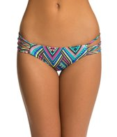 L-Space Antigua Black Low Down Itsy Bikini Bottom