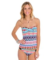 Hobie Deco Stripe Tankini Top