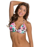 Hobie In Bloom Twist Push Up Bikini Top
