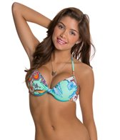 Hobie Perfect Paisley Push Up Underwire Top