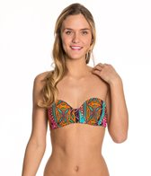 Hobie Tribal Treasure Push Up Underwire Top