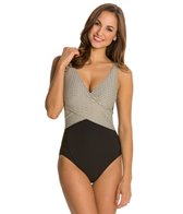 Gottex Gold Rush Surplice One Piece