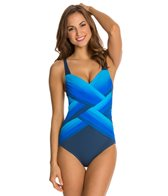 Gottex Harmony Square Neck One Piece