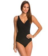 Gottex Lattice Surplice One Piece