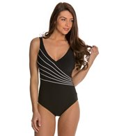 Gottex Lady Like Luxe Surplice One Piece