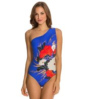 Gottex Mandarin One Shoulder One Piece