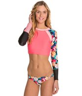 Body Glove Breathe Sanctuary L/S Swim Crop Rashguard