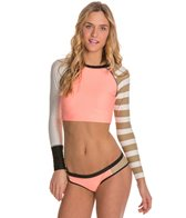 Body Glove Distraction Swim Crop L/S Rashguard