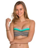 Body Glove Muse Glow Underwire Push Up Bandeau Top