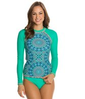 Jessica Simpson Gypsy Life Long Sleeve Rashguard