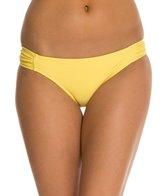 Jessica Simpson Sea Glass Side Shirred Hipster Bikini Bottom