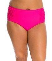 Jessica Simpson Plus Size Desert Fringe High Waisted Bottom
