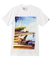 Quiksilver Men's Fins First S/S Tee