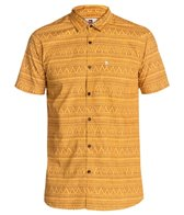 Quiksilver Men's Med Triangles S/S Shirt
