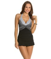 Profile by Gottex Dolce Vita Underwire Halter Swimdress
