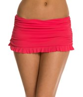 Profile by Gottex Solid Ruffle Skirted Bottom