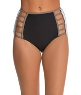 Red Carter Boogie Nights High Waist Cut Out Bottom