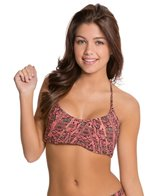 Red Carter Python Racer Back Top