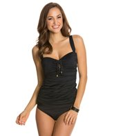 BLEU Rod Beattie American Hustle Underwire D-Cup Tankini Top
