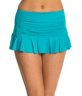 BLEU Rod Beattie American Hustle Retro Swim Skirted Hipster Bikini Bottom