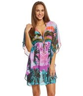 BLEU Rod Beattie Lush In Translation Short Caftan
