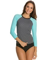 BLEU Rod Beattie Connect The Dots 3/4 Sleeve Rashguard