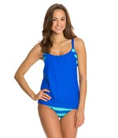 Next Lined Up Double Up Tankini Top